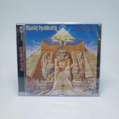 Imagem 1 de 3 de Cd Iron Maiden - Powerslave Original Lacrado