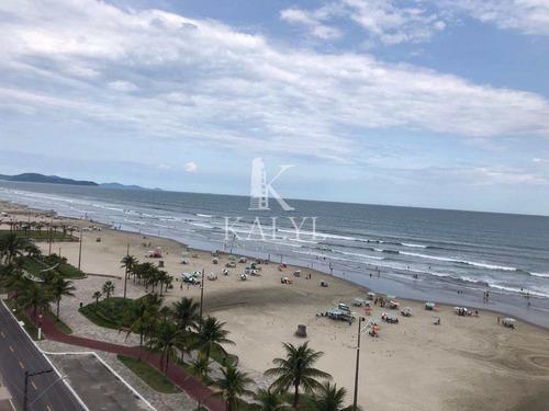 Apartamento Com 2 Dorms, Maracanã, Praia Grande - R$ 420 Mil, Cod: 5275 - V5275