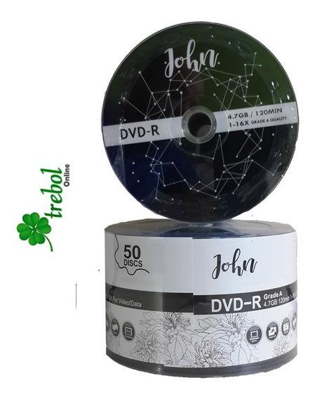 Dvd Virgen Peliculas Y Datos 4.7gb 16x Paquete 50 Discos