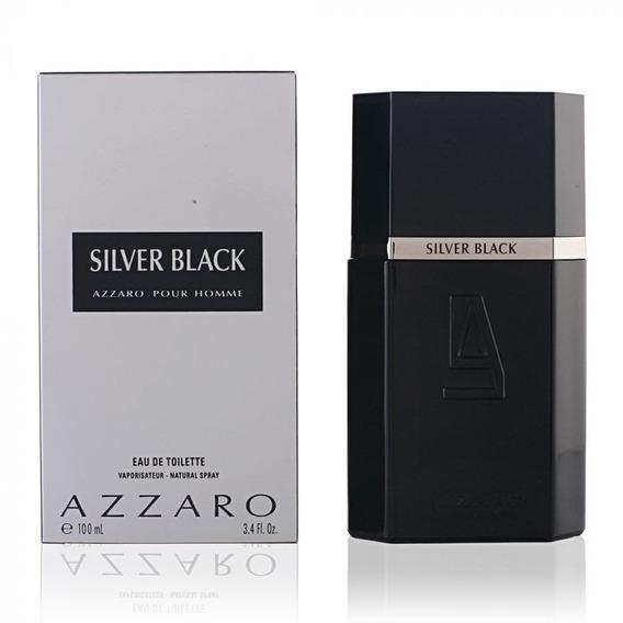 Perfume Azzaro Silver Black Edt - Masculino 100 Ml