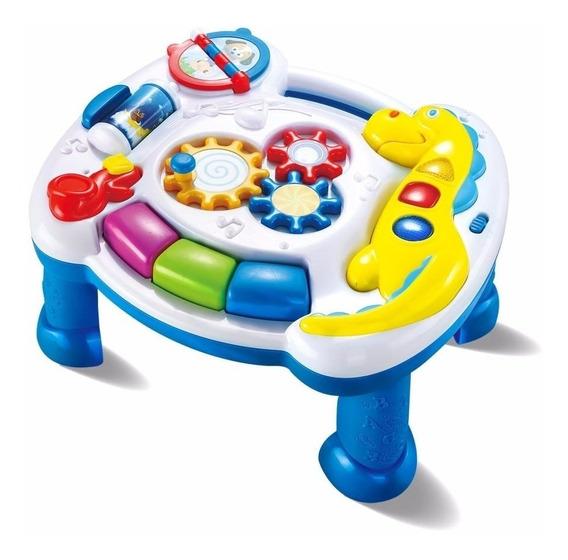 Mesinha Mesa Infantil De Atividades Zoop Toys Som Dinossauro