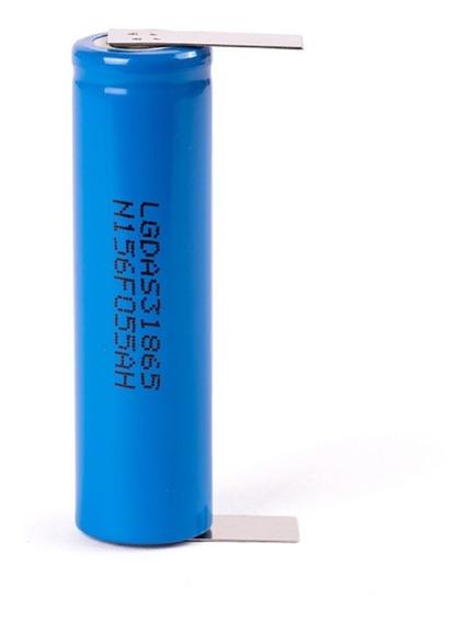 Kit 20 Bateria LG 2200mah Com Terminal De Solda