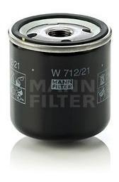 Imagen 1 de 2 de Filtro Aceite Toyota Camry Hiace Hilux Sienna Mann W712/21