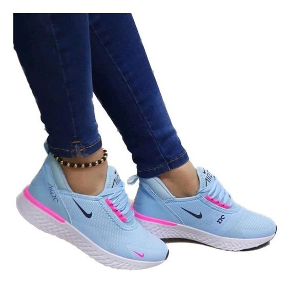 Tenis Mujer Lindas Zapatillas Nike Dama Oferta Promoción