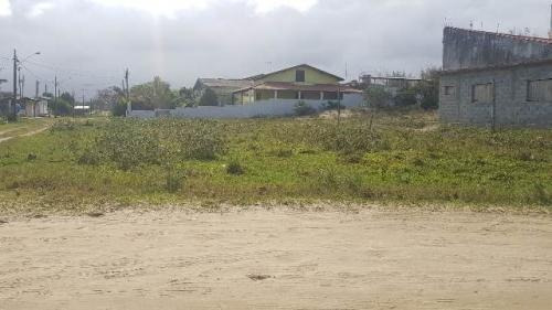 Terreno De Esquina No Jardim Marambá, Itanhaém, Litoral Sp