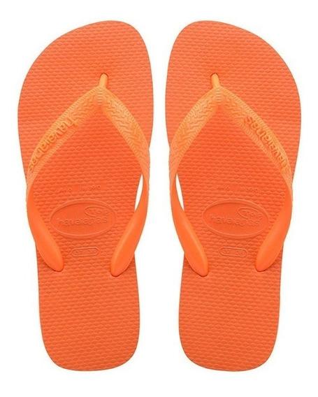 Zonazero Havaianas Ojotas Color Naranja Unisex Originales