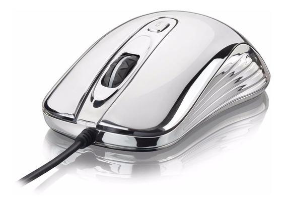 Mouse Gamer Chrome Warrior Usb 1600dpi Multilaser - Mo228