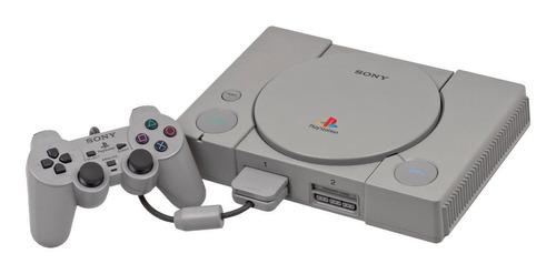 Imagen 1 de 1 de Sony PlayStation color  gris