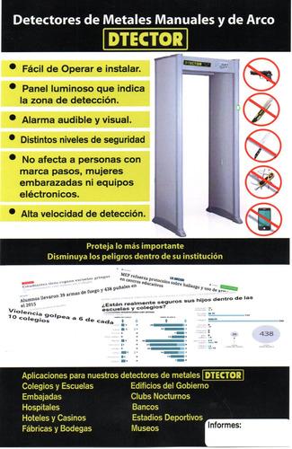 Imagen 1 de 3 de Arco Detector De Metales Alquiler
