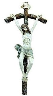 Saint Pope John Paul Ii Papal Wall Crucifix 10 H Catholic