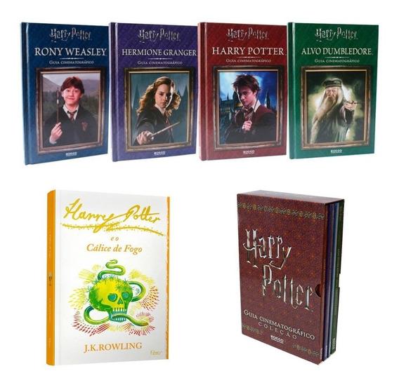 Box Harry Potter Guia Cinematográfico+edição Espececial Novo
