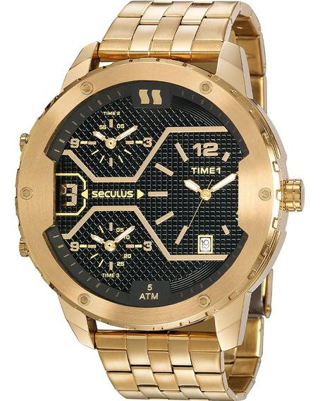 Relógio Masculino Seculus 20886gpsvda1