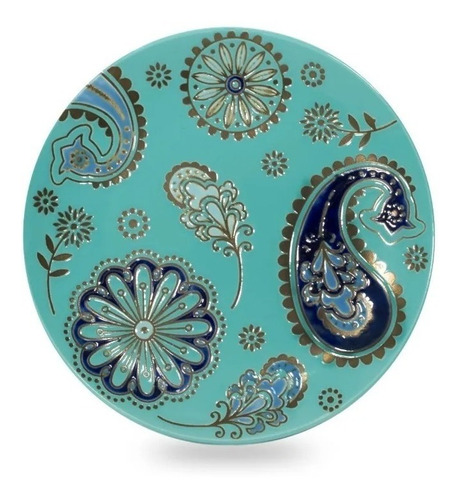Plato Playo 21cm Gde Porcelana Diseño Bulgaro Oferta Outlet