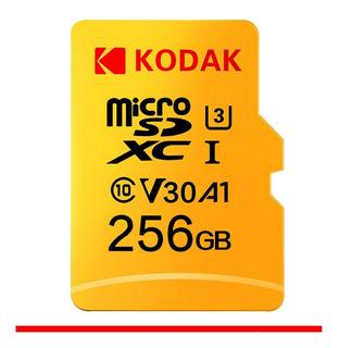 Cartão De Memoria Micro Sdxc 256gb Kodak Uhs-i U3 V30 A1