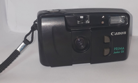 Câmera Analógica Canon Prima Junior Dx Retirada De Peças
