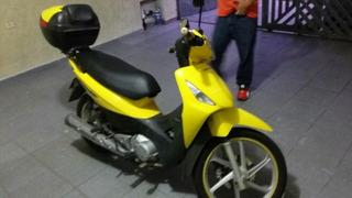 Honda Biz + 125 Amarela