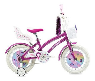 Bicicleta Infantil Nena - Olmo Tiny Pets Rodado 12