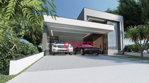 Casa Com 3 Dormitórios À Venda, 153 M² Por R$ 800.000,00 - Condomínio Ibiti Reserva - Sorocaba/sp - Ca0371