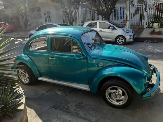 Volkswagen Escarabajo Azul Modelo 1964