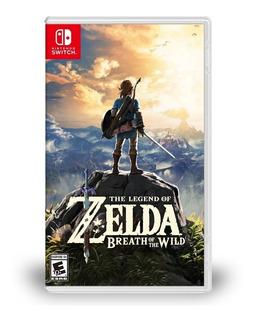 Juegonintendo Switch The Legend Of Zelda Breath Of The Wild