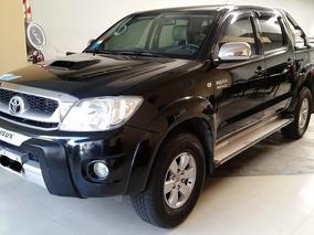 Toyota Hilux Srv 3.0td 4x4 M/t Pack 2010 Km90000.-