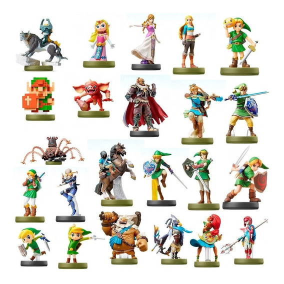 Amiibo Zelda Breath Of The Wild + Amiibo Link