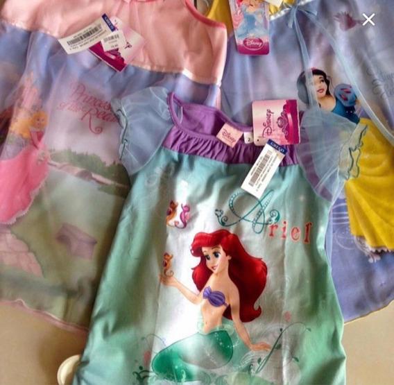 Pijamas Vestidos De Princesas De Disney Liquidacion $8,50