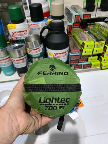 Imagen 1 de 4 de Bolsa De Dormir Ferrino Lightec Sq 700grs 2,15x0,75 +10