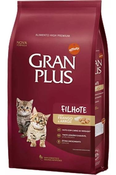 Ração Gran Plus Gatos Filhote Frango 10,1kg
