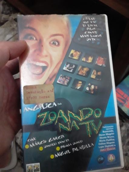 Fita Vhs Angelica Zoando Na Tv Original