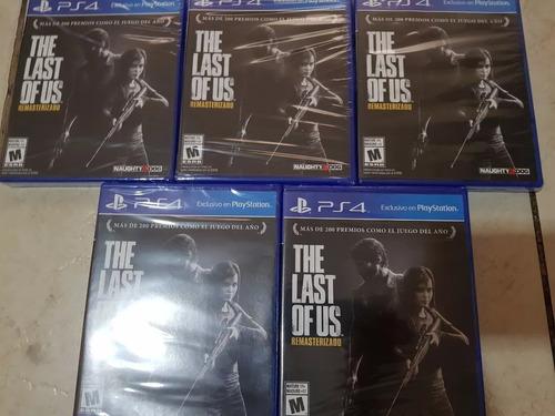 The Last Of Us Ps4 Nuevo Sellado Playstation 4 Remate