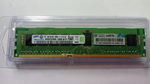 Imagem 1 de 1 de Memória Hp 8gb Pc3-12800-r 1600mhz 1rx4 ( P/servidor)