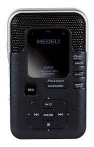 Gravador Digital Wav/mp3 Dr2 Profissional Medeli