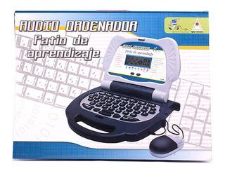 Computadora Notebook Con Mouse De Actividades Aprendizaje