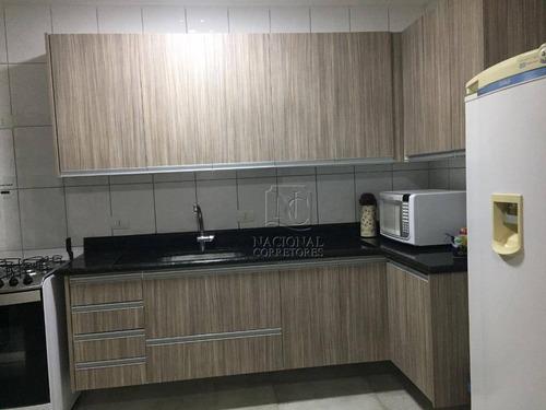 Sobrado À Venda, 134 M² Por R$ 530.000,00 - Jardim Rina - Santo André/sp - So3389