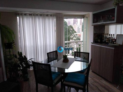 Imagem 1 de 14 de Apartamento Com 1 Dormitório À Venda, 65 M² - Morumbi - São Paulo/sp - Ap12783