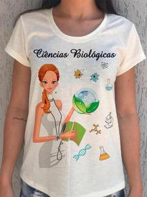 a570e7909 Camiseta Feminina Profissão Ciências Biológica Frete Grátis