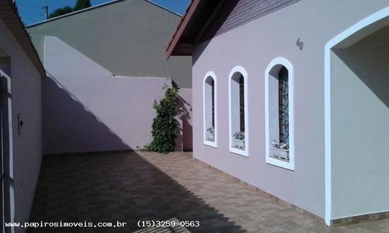 Casa Para Venda Em Tatuí, Colina Verde, 3 Dormitórios, 1 Suíte, 2 Banheiros, 3 Vagas - 046_1-585184