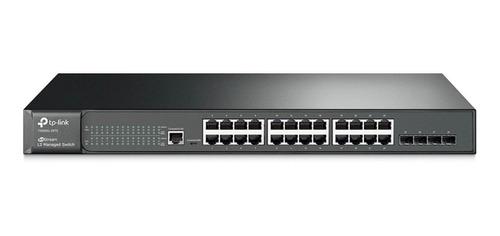 Imagem 1 de 3 de Switch Tp-link 24 Port Gigabit T2600g-28ts Sg3428 Jetstream