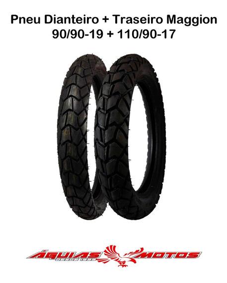 Par Pneu Bros 160/150 Maggion Viper 110/90-17 E 90/90-19