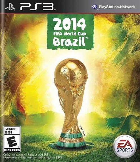 Copa Do Mundo Fifa 2014 Ps3 Mídia Física