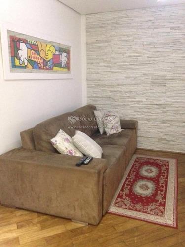 Imagem 1 de 15 de Apto 55m² Cond. Residencial Das Rosas - Gopouva - Apartamento A Venda No Bairro Vila Paulista - Guarulhos, Sp - Sc00091