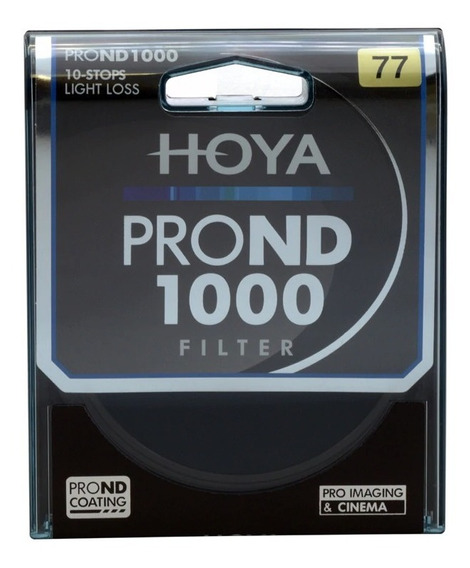 Filtro De Densidade Neutra Hoya Pro Nd 1000 77mm
