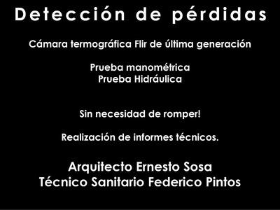 Detección De Pérdidas De Agua, Método Flir. (sin Romper)