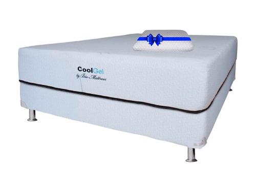Colchon + Box Bio Mattress Queen Size Cool-gel Memory  Gel