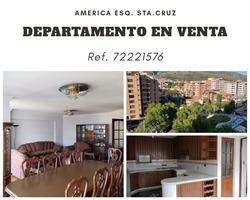 Departamento De 3 Dormitorios Y 4 Baños En 7mo Piso.
