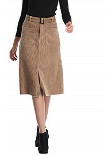 Falda Larga De Pana Gap Jeans Talla 4
