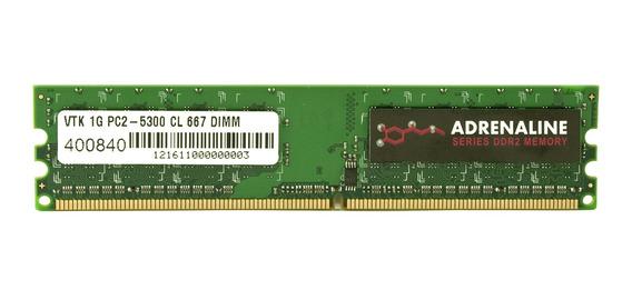 Memoria Ram 1gb Visiontek Ddr2 667 Mhz (pc2-5300) Cl5 Dimm - 900432