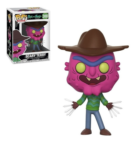 Figura Funko Pop Ricky & Morty - Scary Terry 300