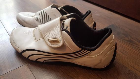 Zapatillas Puma Sport Blancas (41 1/2)